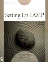 Setting Up LAMP Getting Linux, Apache, MySQL, and PHP Working Together phần 1 ppt