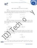 Đề 3: Biến thiên điện dung của từ điện doc