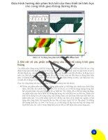 Giáo trình hướng dẫn phân tích kết cấu theo thiết kế hình học cho công trình giao thông đường thủy p1 pot