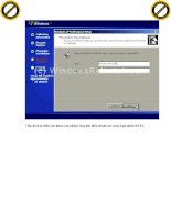 Giáo trình hình thành ứng dụng Aethia Dbackup về cấu hình và vị trí server p3 ppt