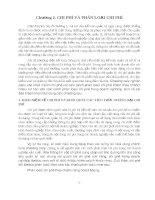 GIÁO TRÌNH KẾ TOÁN QUẢN TRỊ VÀ CÁC LOẠI CHI PHÍ CHỦ YẾU - 1 pptx