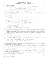 đề cương ôn thi hóa học 10 nâng cao