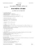 vật lý 12 nâng cao - dao động cơ học