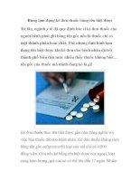 Đừng lạm dụng kê đơn thuốc bằng tên biệt dược pot
