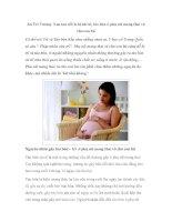 An Trĩ Vương: Xua tan nỗi lo bệnh trĩ, táo bón ở phụ nữ mang thai và cho con bú pptx