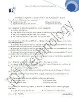 Bài tập quá trình nhân đôi ADN pdf