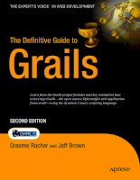 The definitive guide to grails second edition - phần 1 pptx