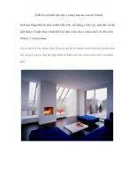 Thiết kế nội thất độc đáo và hiện đại cho căn hộ 100m2 pdf