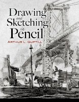 Drawing And Sketching In Pencil by Arthur Guptill