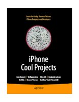 iPhone Cool Projects phần 1 potx