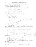 một số dạng phương trình lượng giác 11