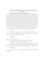 CƠ SỞ PHƯƠNG PHÁP MÔ HÌNH HOÁ TRONG HẢI DƯƠNG HỌC ( Định Văn Ưu )- CHƯƠNG 3 pdf