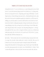Y học cổ truyền kinh điển - sách Linh Khu: THIÊN 1: CỬU CHÂM THẬP NHỊ NGUYÊN pdf