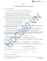 Đề 1: Lý thuyết động lực học vật rắn pps