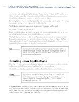 Sams Teach Yourself Java 6 in 21 Days 5th phần 3 pptx