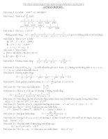 tuyển chọn một số bài toán nâng cao lớp 7