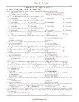 tổng hợp về hiđrocacbon