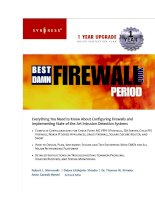 the best damn firewall book period phần 1 pot