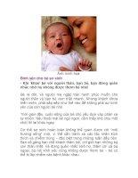 Bình yên cho bé sơ sinh pptx