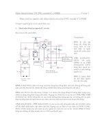 Giaùo trình Colour TV JVC, model C-1490M - Phần 3 pdf