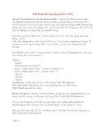 Xây dựng một ứng dụng Ajax cơ bản AJAX pdf