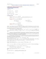 chuyên đề phương trình -bất phương trình -hệ phương trình vô tỷ