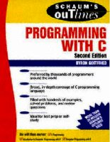 THEORY AND PROBLEMS OF PROGRAMMING WITH Second Edition phần 1 pot