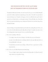 Lý Thuyết Tín Dụng Ngân Hàng: MỘT SỐ NỘI DUNG CHỦ YẾU CẦN NÊU TẠI TỜ TRÌNH BÁO CÁO THẨM ĐỊNH docx