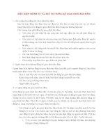 Lý Thuyết Tín Dụng Ngân Hàng: ĐIỀU KIỆN TRÌNH TỰ VÀ THỦ TỤC ĐĂNG KÝ GIAO DỊCH BẢO ĐẢM doc