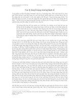 KINH TẾ VĨ MÔ - CÁC LÝ THUYẾT TĂNG TRƯỞNG KINH TẾ - KIM CHI - 1 pps