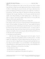 Luận văn chiến lược phát triển dành cho công ty dệt may - Nguyễn thị Huyền Dương – 2 pot