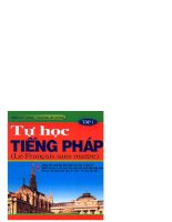Tự học tiếng Pháp tập 1 part 1 docx