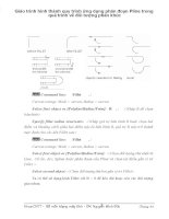 Giáo trình hình thành quy trình ứng dụng phân đoạn Pline trong quá trình vẽ đối tượng phân khúc p1 ppt