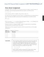 Sams Teach Yourself Java 6 in 21 Days 5th phần 2 pps