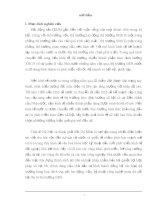 Luận văn thực trạng và một số biện pháp nhằm thúc đẩy tình hình bất động sản ở Hà Nôi - 1 pps