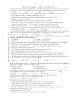 100 câu trắc nghiệm lý thuyết tổng hợp vật lý 12