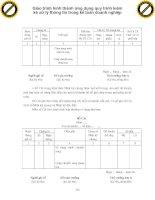 Giáo trình hình thành ứng dụng quy trình kiểm kê xử lý thông tin trong kế toán doanh nghiệp p1 pdf