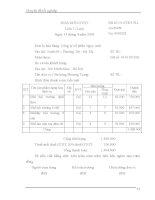 Chuyên đề tốt nghiệp kế toán bán hàng và xác định kết quả bán hàng của công ty Ngọc Anh – 3 doc