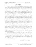 Luận văn chiến lược phát triển dành cho công ty dệt may - Nguyễn thị Huyền Dương – 1 doc