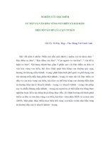 NGHIÊN CỨU ĐẶC ĐIỂM CƯ DÂN VÀ VĂN HÓA VÙNG VEN BIỂN VÀ HẢI ĐẢO: MỘT SỐ VẤN ĐỀ LÝ LUẬN CƠ BẢN pptx
