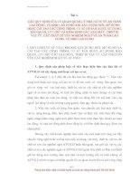 TÀI LIỆU HUẤN LUYỆN AN TOÀN, VỆ SINH LAO ĐỘNG CHO NGƯỜI SỬ DỤNG LAO ĐỘNG - BÀI 4 pptx
