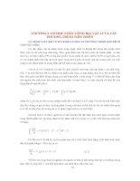 CƠ SỞ PHƯƠNG PHÁP MÔ HÌNH HOÁ TRONG HẢI DƯƠNG HỌC ( Định Văn Ưu ) - CHƯƠNG 2 ppt