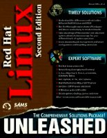 Red Hat Linux unleashed Second Edition phần 1 doc