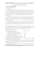 Giáo trình công nghệ kim loại 2 - Chương 1 pdf