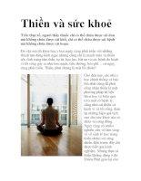 Thiền và sức khoẻ pot