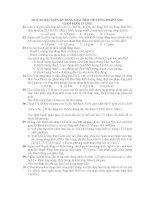 MỘT SỐ BÀI TẬP VẬN DỤNG GIẢI THEO PHƯƠNG PHÁP TĂNG GIẢM KHỐI LƯỢNG pdf