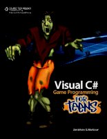 Visual C# Game Programming for Teens phần 1 ppt