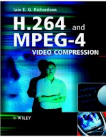 H.264 and MPEG-4 Video Compression phần 1 potx