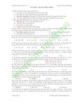 CHỦ ĐỀ 7: GIAO THOA SÓNG pps