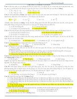 533 câu trắc nghiệm vật lý ôn thi đại học hót
